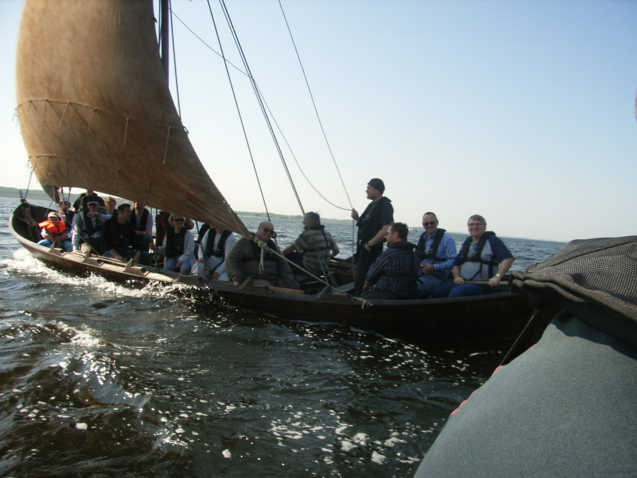Viking ship trip Roskilde May2006